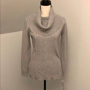 Sweaters - Grey turtleneck sweater